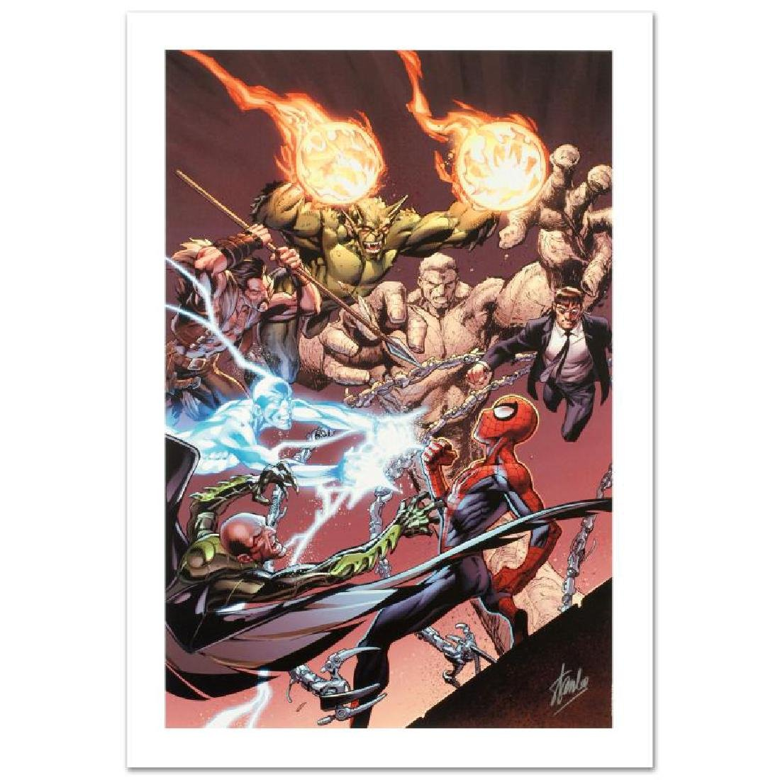 """Ultimate Spider-Man #158"" Limited Edition Giclee on"