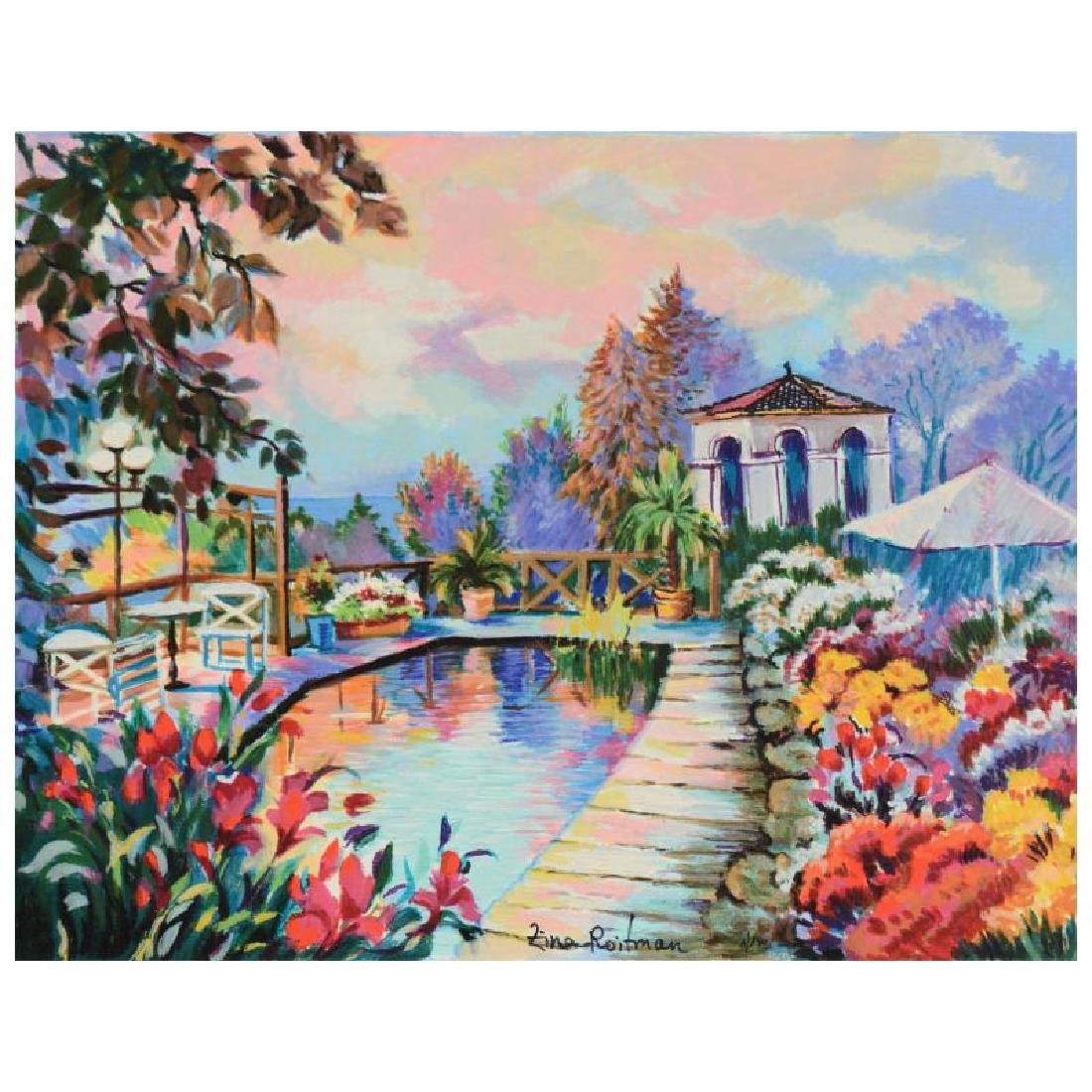 "Zina Roitman - ""Tranquility"" Limited Edition Serigraph"