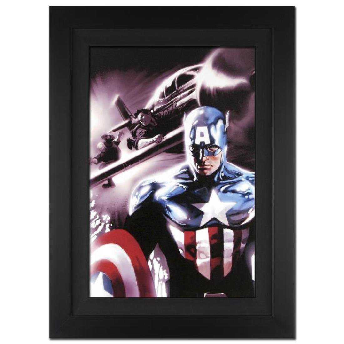 """Captain America #609"" Extremely Limited Edition Giclee"