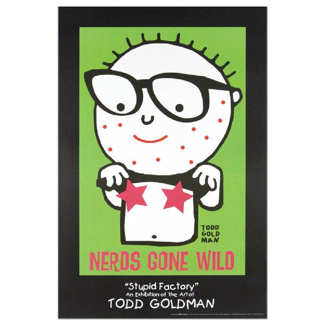 """Nerds Gone Wild"" Fine Art Litho Poster (24"" x 36"") by"
