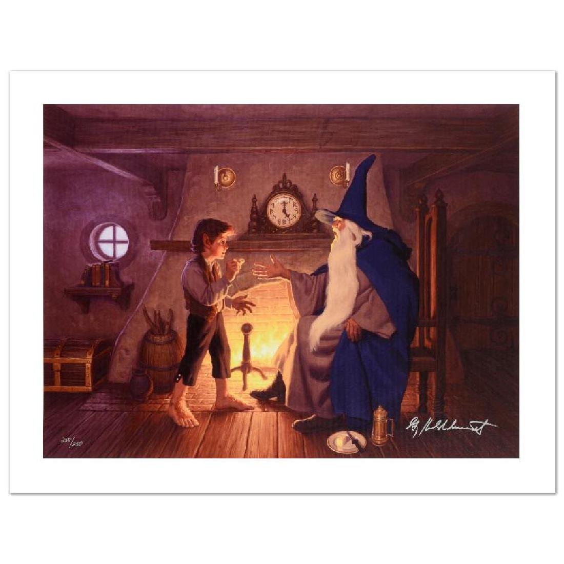 """The One Ring"" Limited Edition Giclee on Canvas by The"