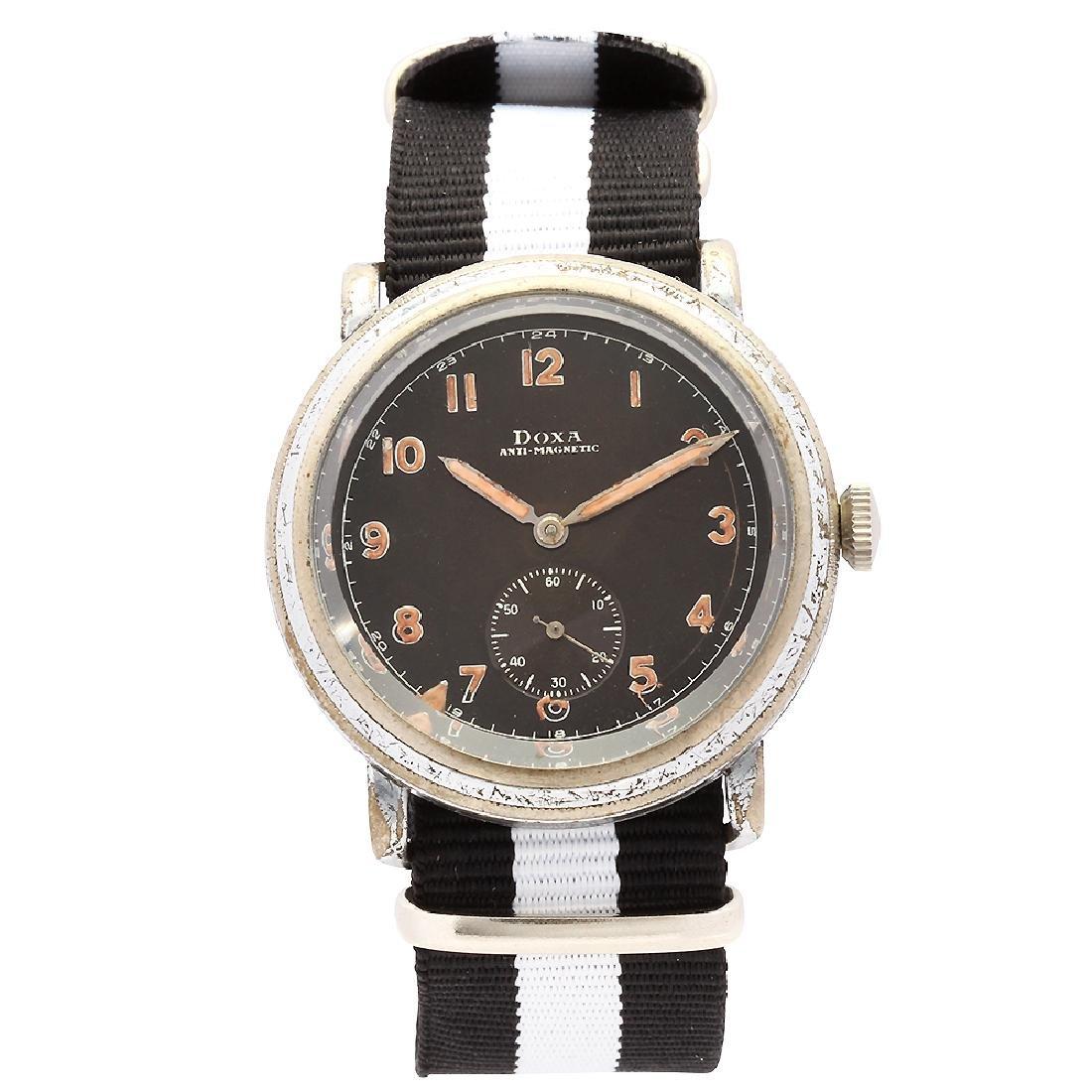 Pre WW2 Doxa Pilot's Watch Military Issue Fixed Lugs
