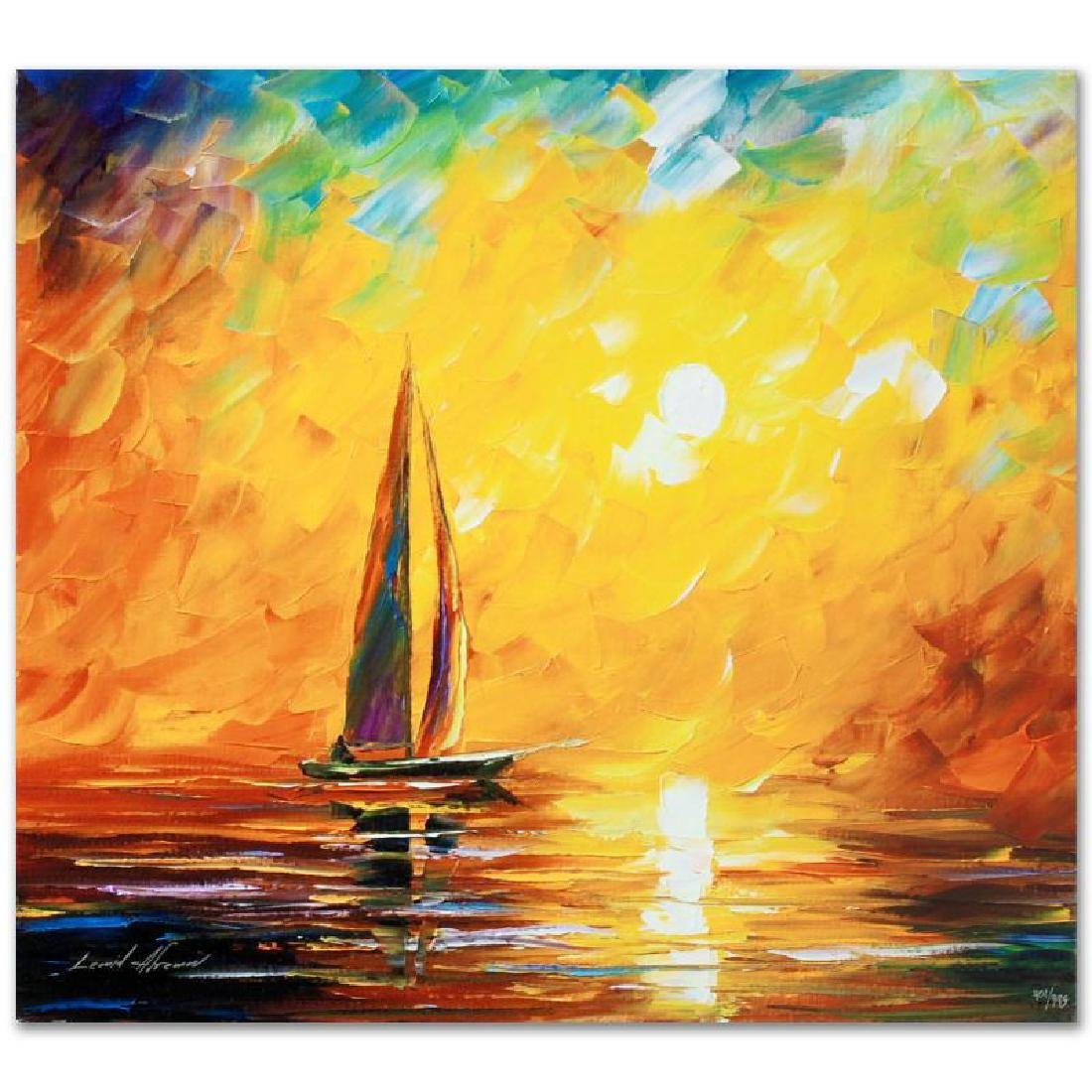 Tuscan Sun LIMITED EDITION Giclee on Canvas by Leonid - 2