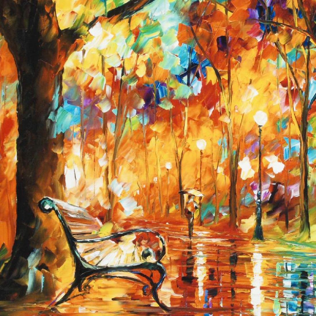 """Burst of Autumn"" LIMITED EDITION Giclee on Canvas by - 2"