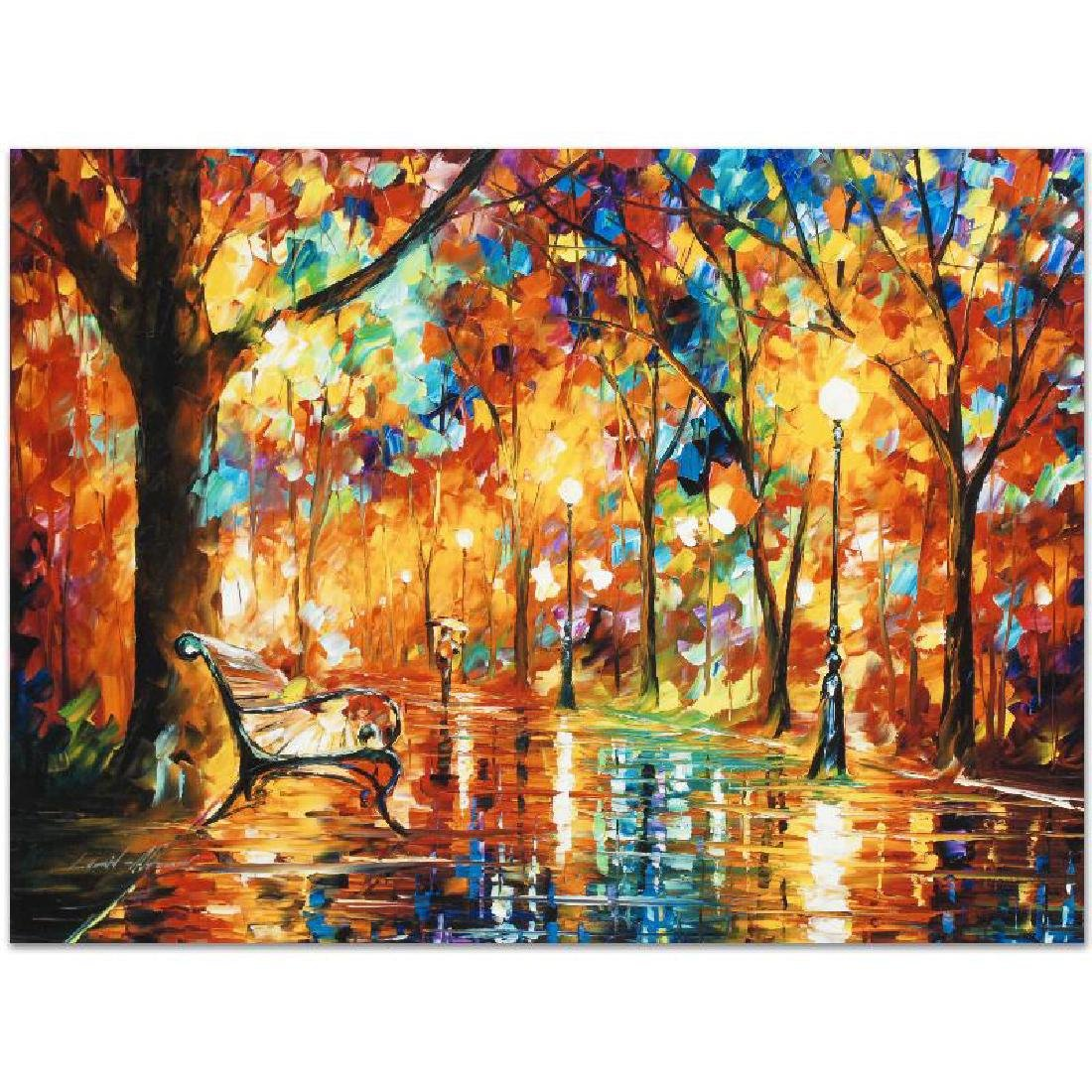 """Burst of Autumn"" LIMITED EDITION Giclee on Canvas by - 3"