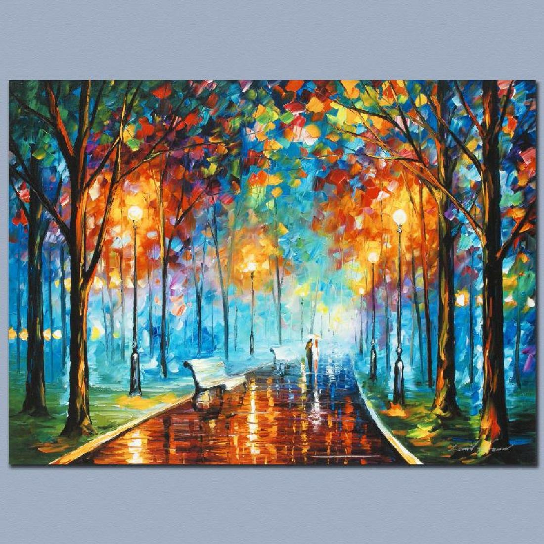 """""""Misty Mood"""" LIMITED EDITION Giclee on Canvas by Leonid - 3"""
