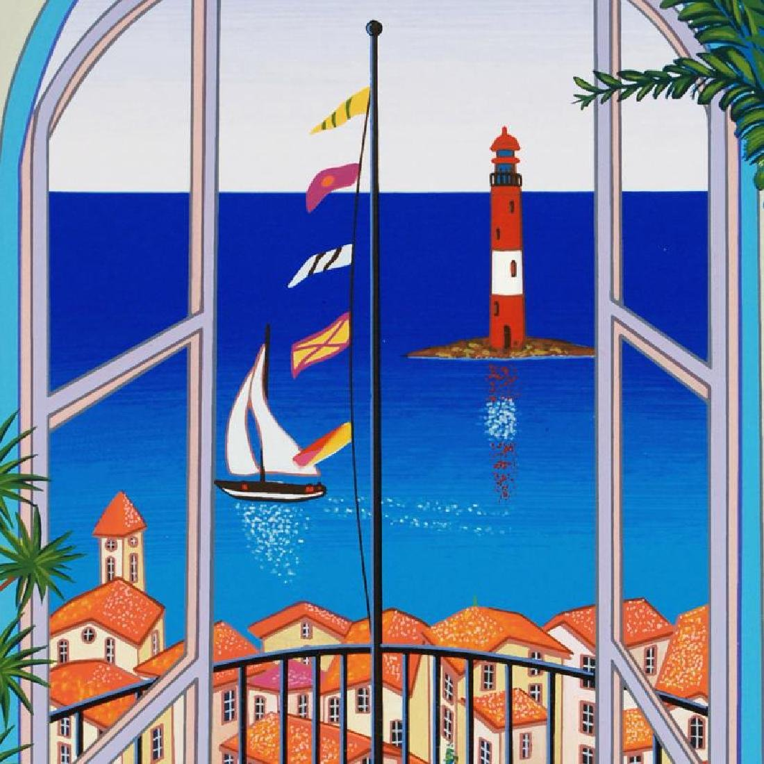 """""""Arcachon Lighthouse"""" Limited Edition Serigraph By - 2"""