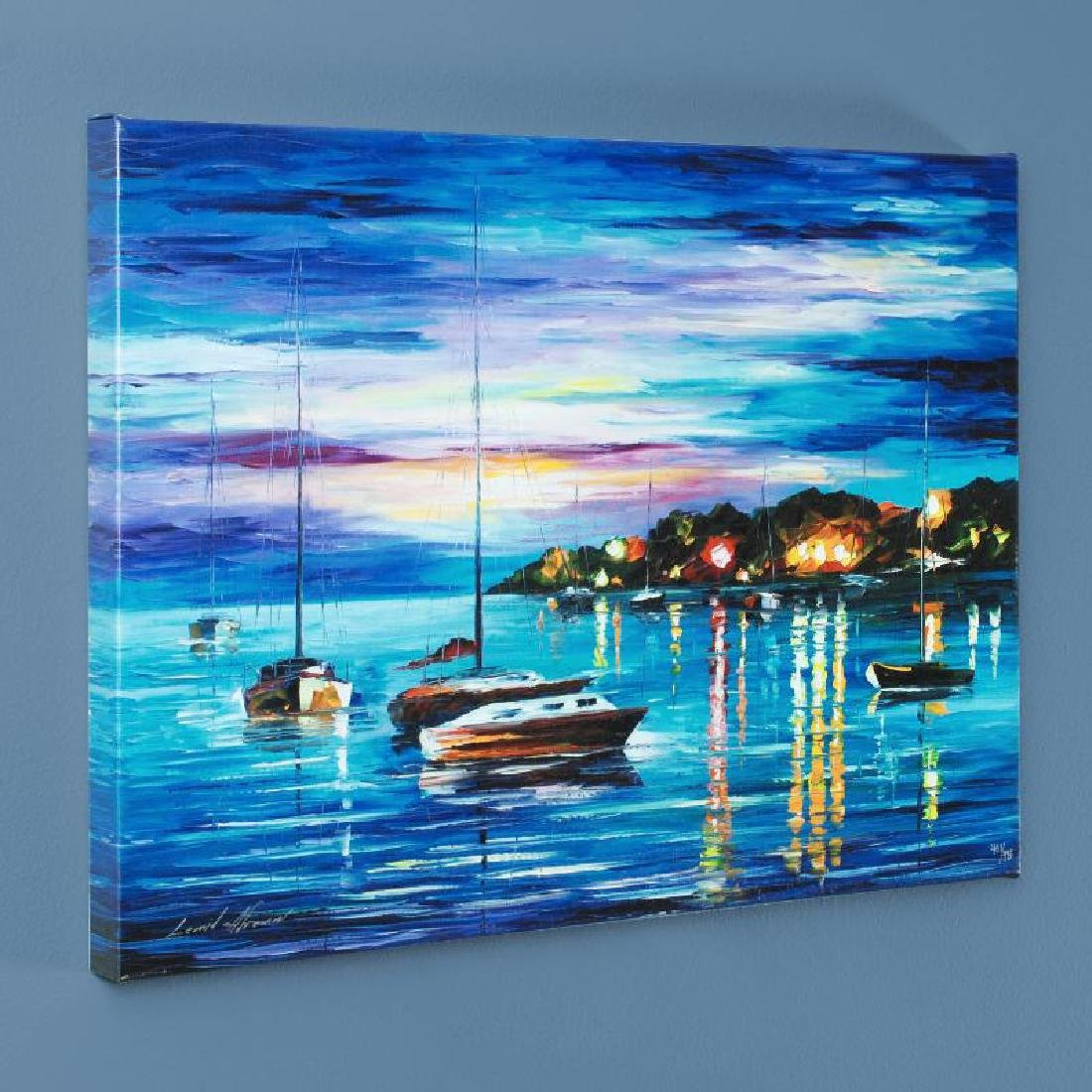 Out All Night LIMITED EDITION Giclee on Canvas by