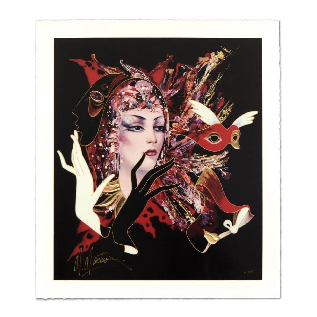 """Martiros Manoukian - """"Sophisticated Glance"""" Limited"""