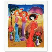 Summer Day Limited Edition Serigraph by Moshe Leider