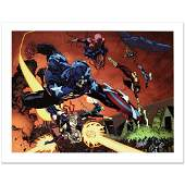New Avengers 59 Limited Edition Giclee on Canvas by
