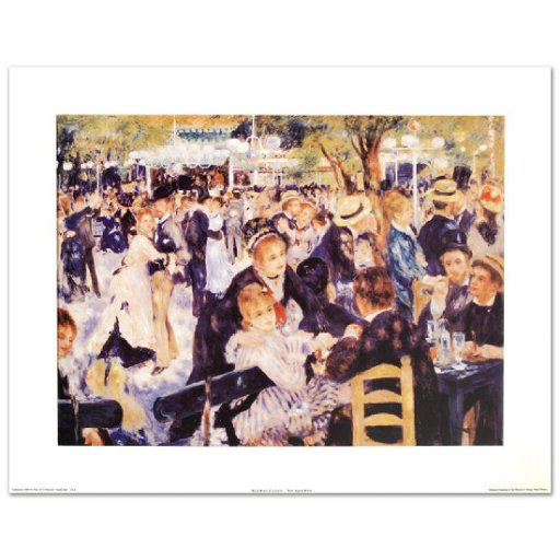 Bal Du Moulin De La Galette Fine Art Print By Renoir Jan 04 2018
