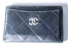 Chanel Black Lambskin Card holder