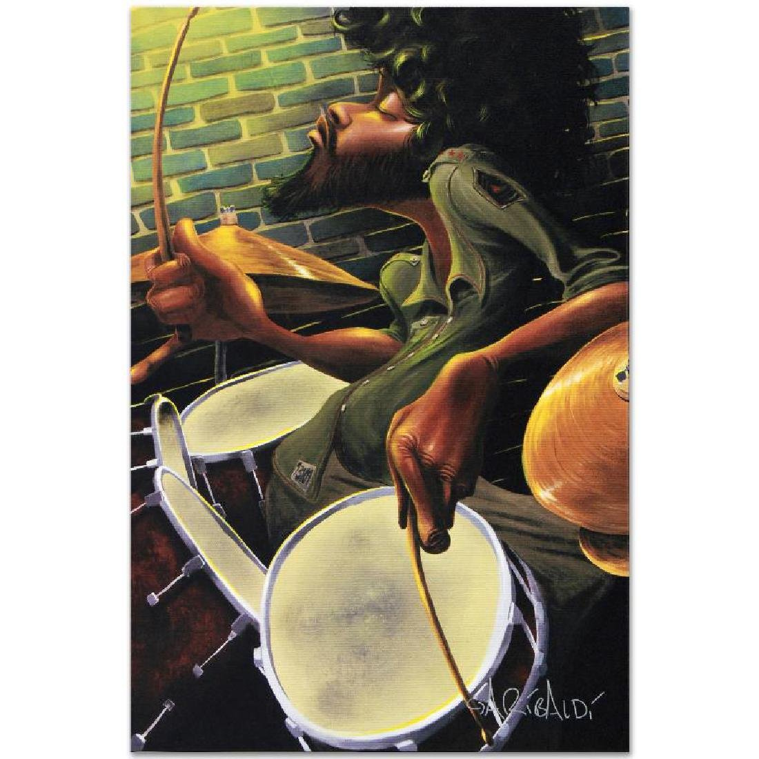 """""""Break Beat Fever"""" LIMITED EDITION Giclee on Canvas - 3"""