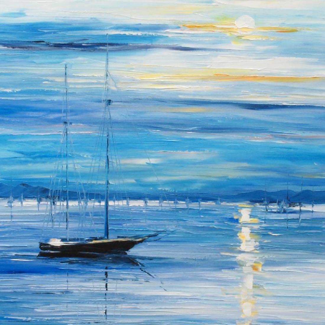 """Far from Shore"" LIMITED EDITION Giclee on Canvas by - 2"