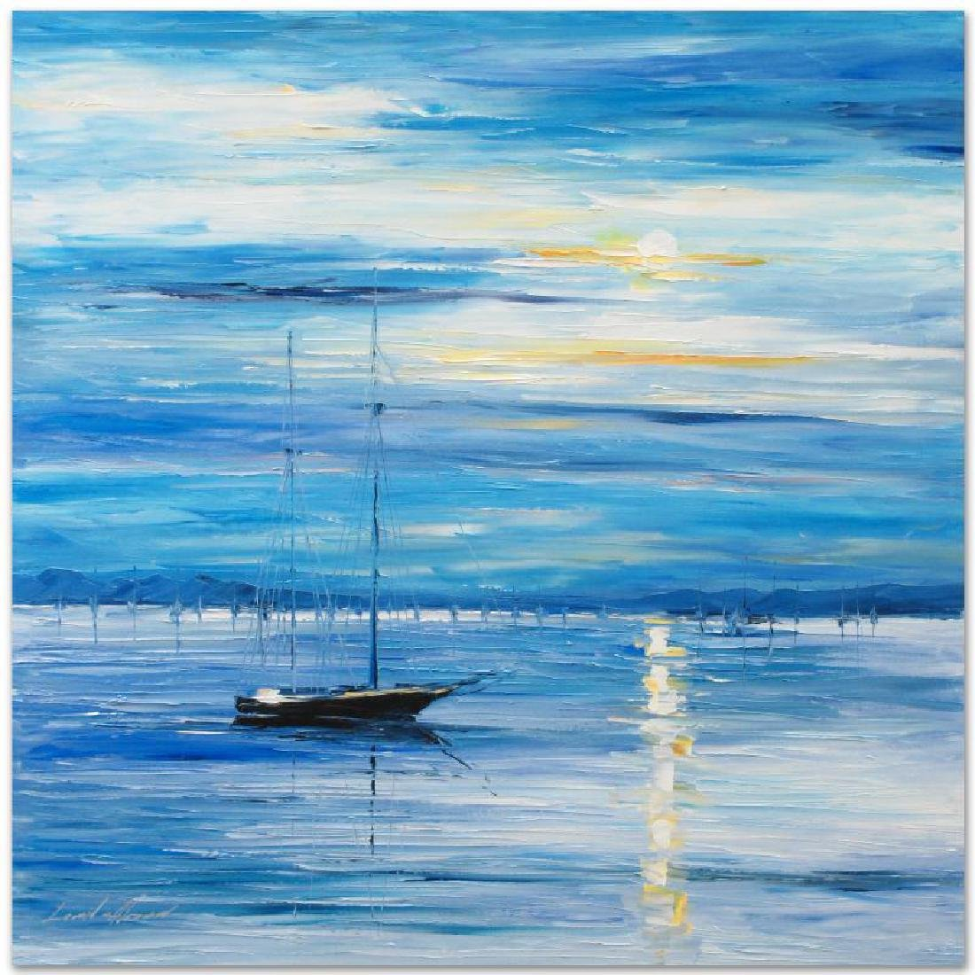 """Far from Shore"" LIMITED EDITION Giclee on Canvas by - 3"