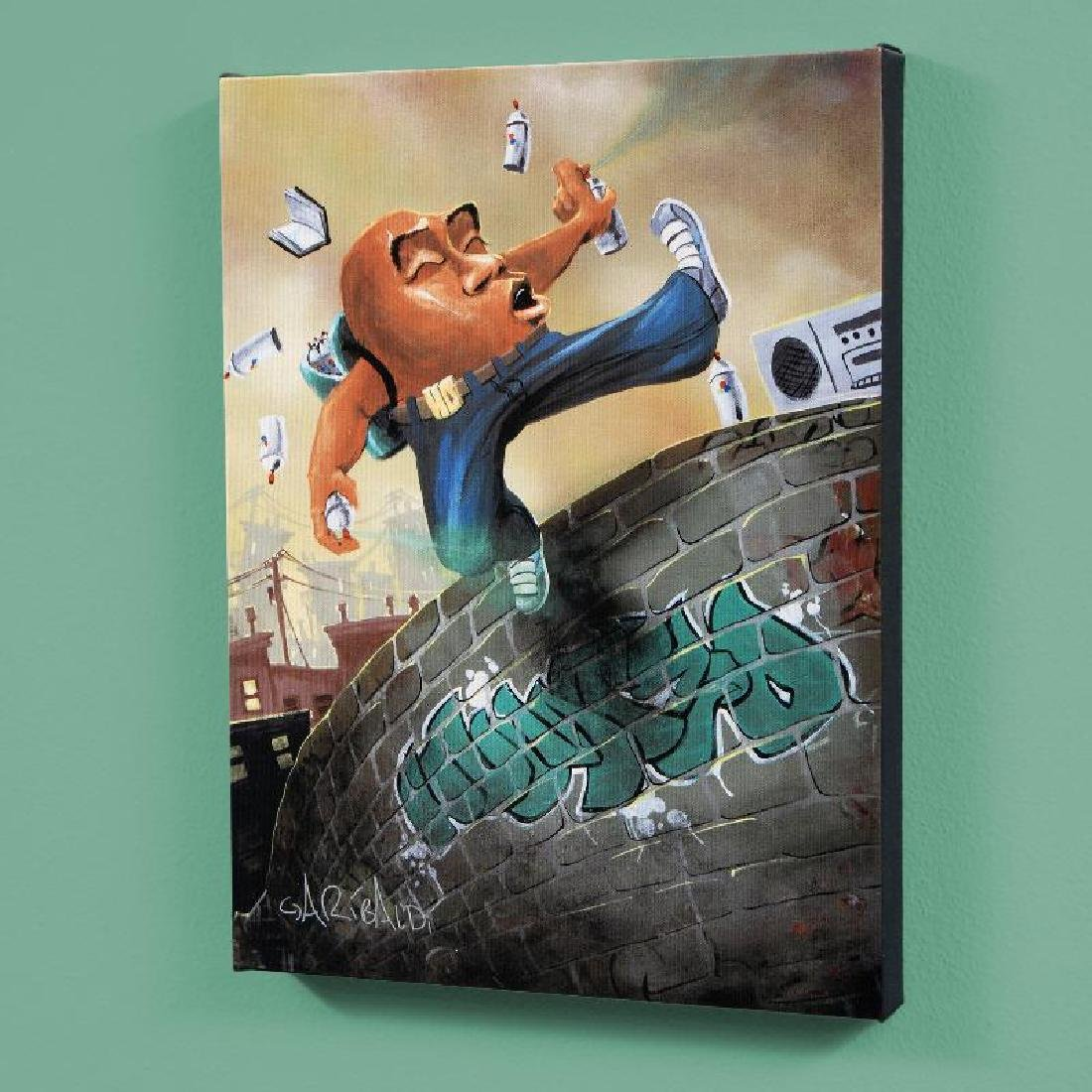 """Humpty Dumpty"" LIMITED EDITION Giclee on Canvas (27"" x"