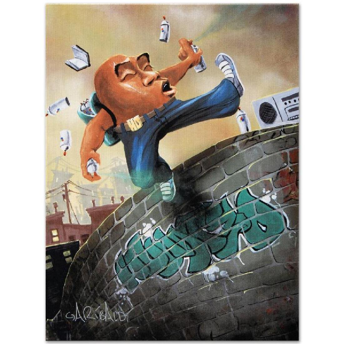 """Humpty Dumpty"" LIMITED EDITION Giclee on Canvas (27"" x - 3"