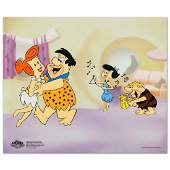 Flintstones Jam Session Limited Edition Sericel from