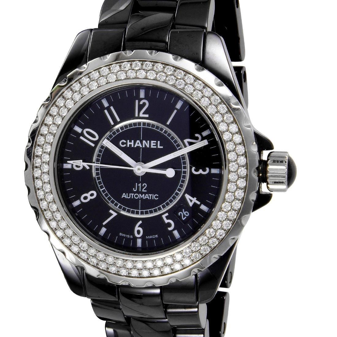 Chanel J12 Automatic Ceramic Diamond Watch