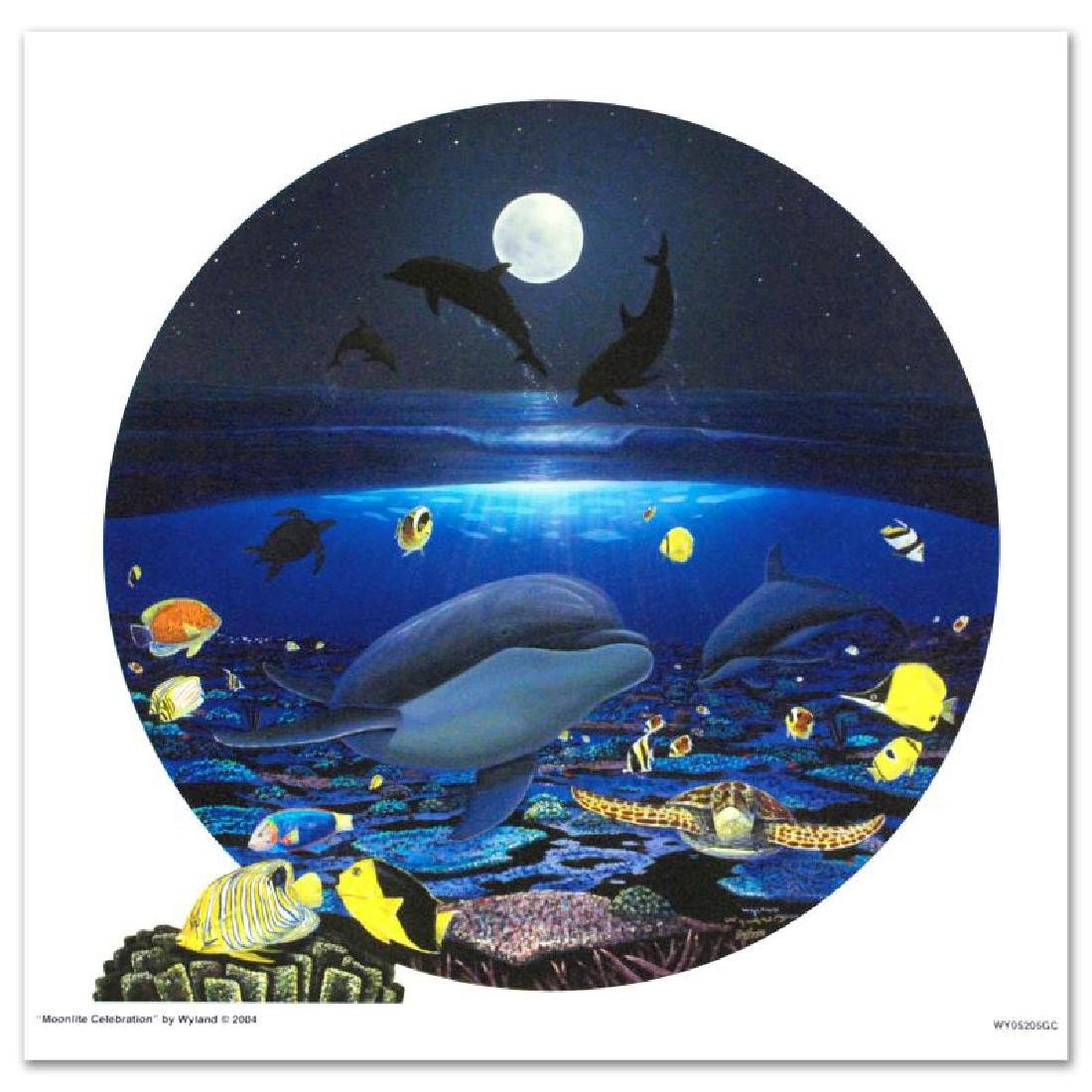 Moonlight Celebration LIMITED EDITION Giclee on Canvas