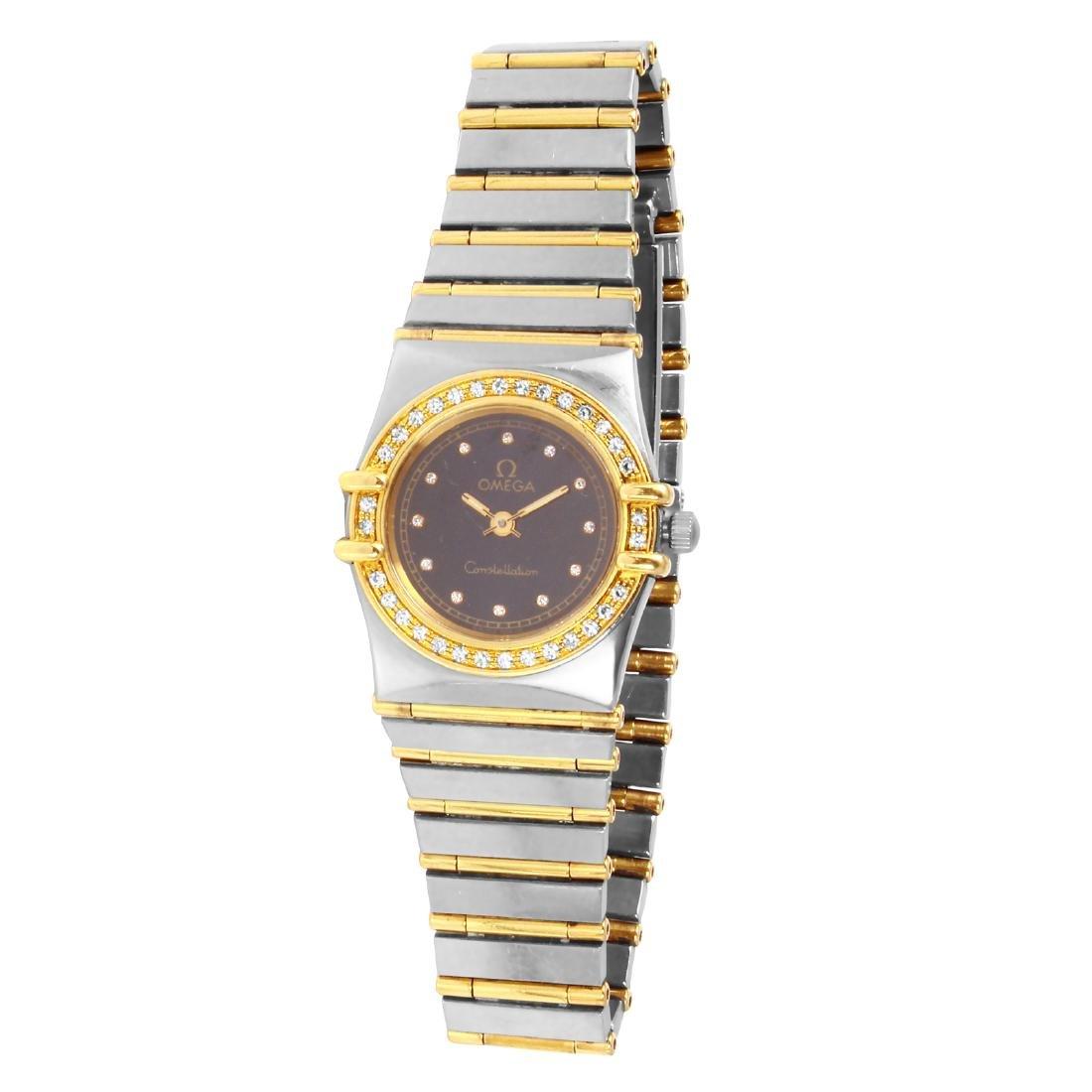 Omega Constellation Ladies 14KT Gold Watch