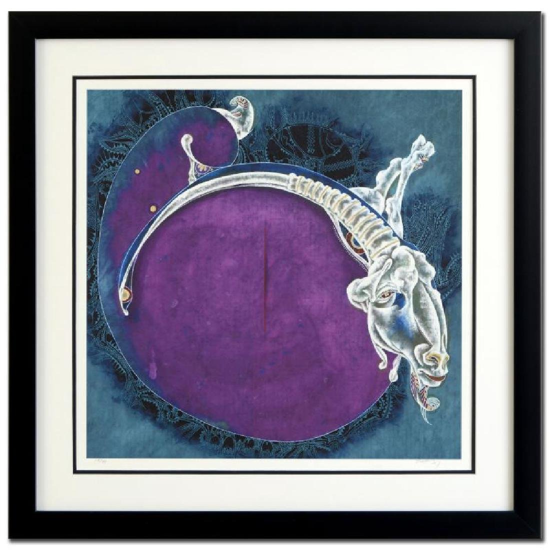 """Lu Hong - """"Aries (3/21 - 4/20)"""" Framed Limited Edition"""