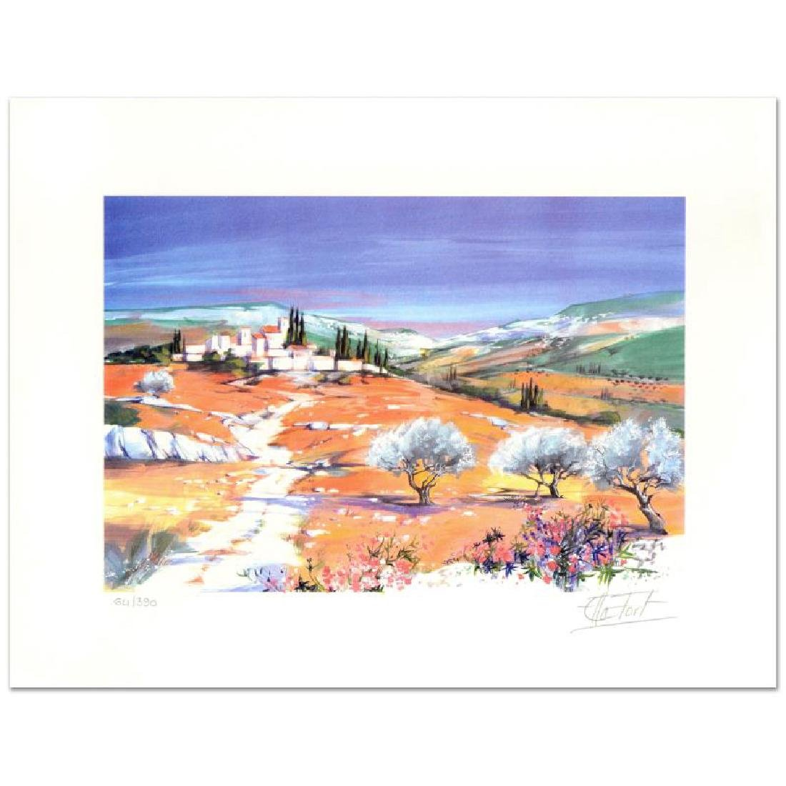 """Ella Fort - """"Village in the Clearing"""" Limited Edition"""