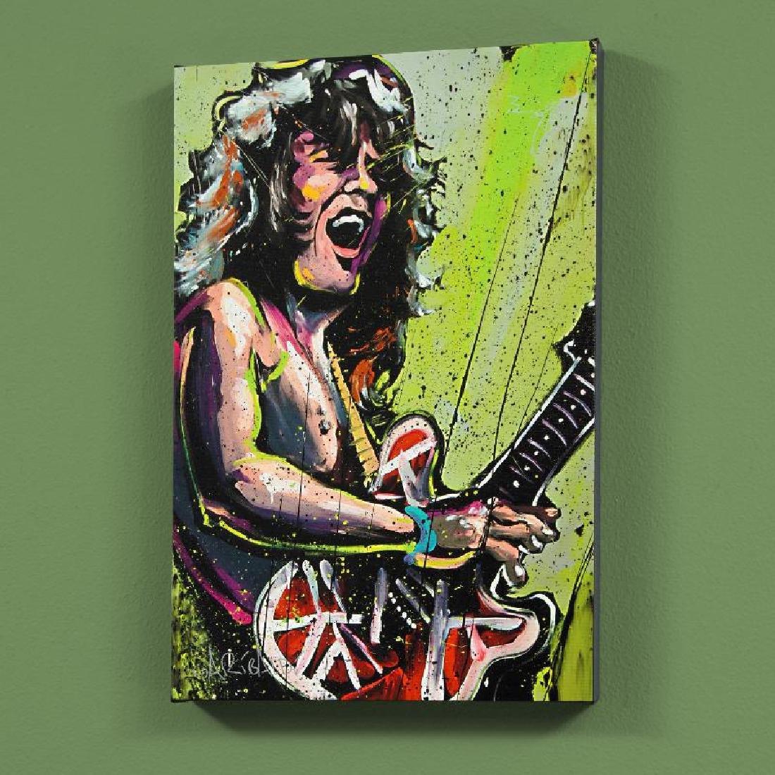 """""""Eddie Van Halen (Eddie)"""" LIMITED EDITION Giclee on"""