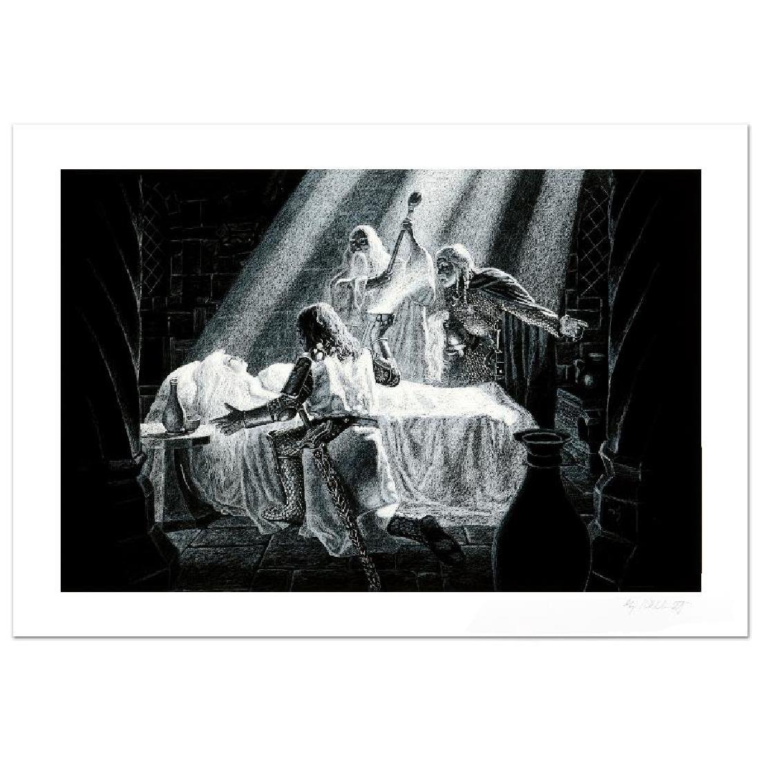 """""""Healing Of Eowyn"""" Limited Edition Giclee by Greg"""