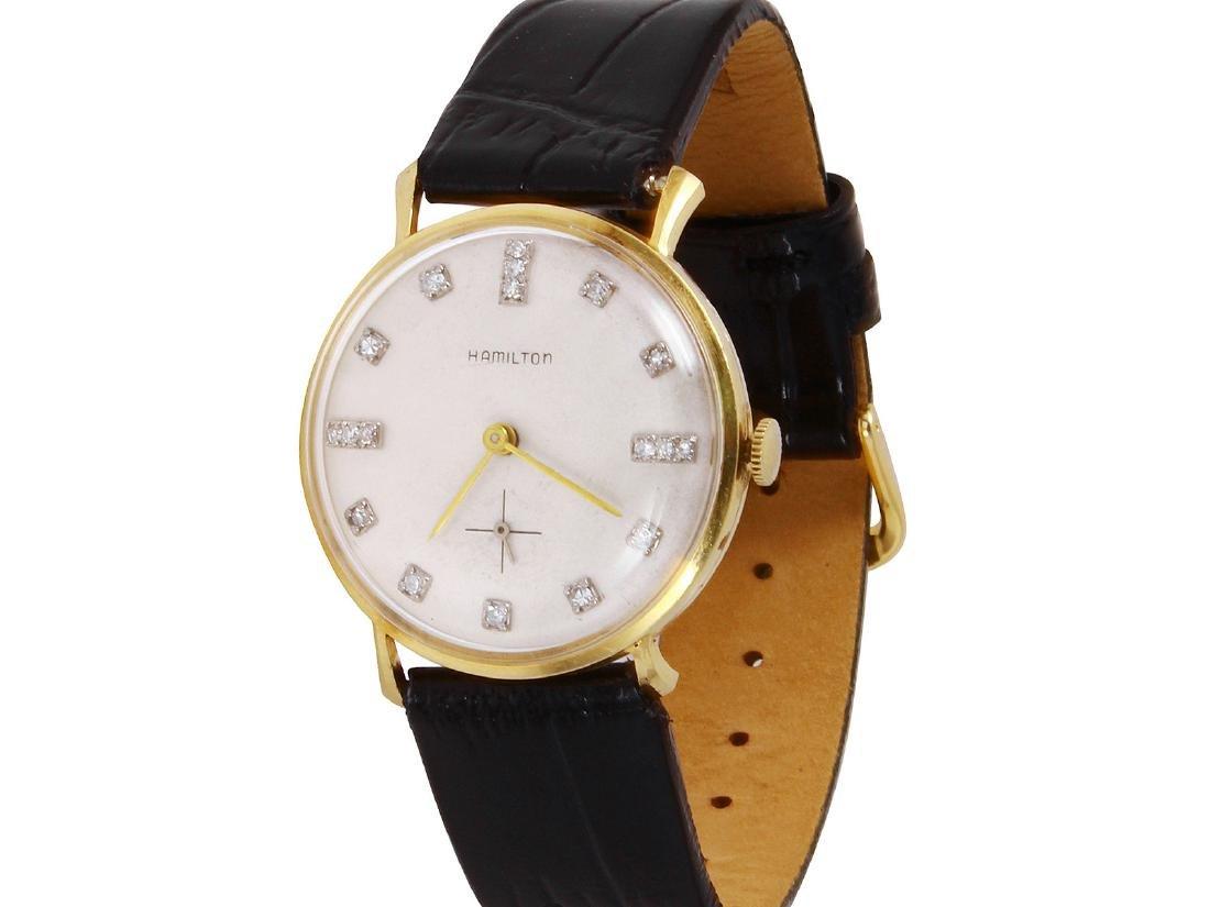 Hamilton 14KT Yellow Gold Watch
