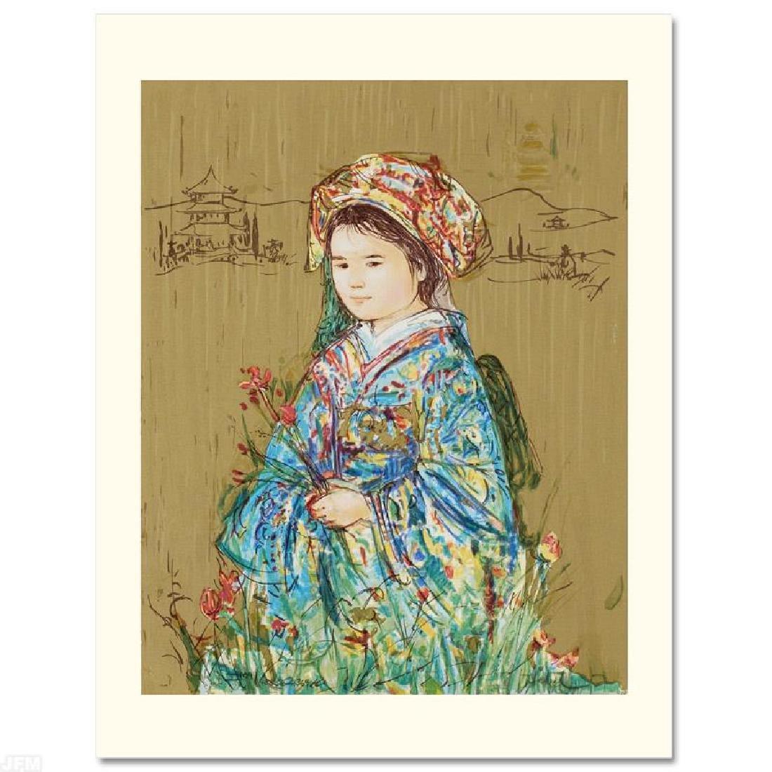 """""""Festival Kimono"""" Limited Edition Serigraph by Edna"""