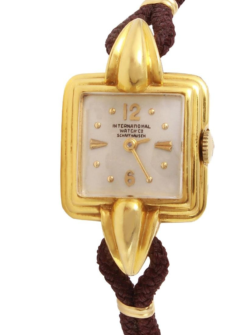 IWC Mechanical 18KT Yellow Gold Watch