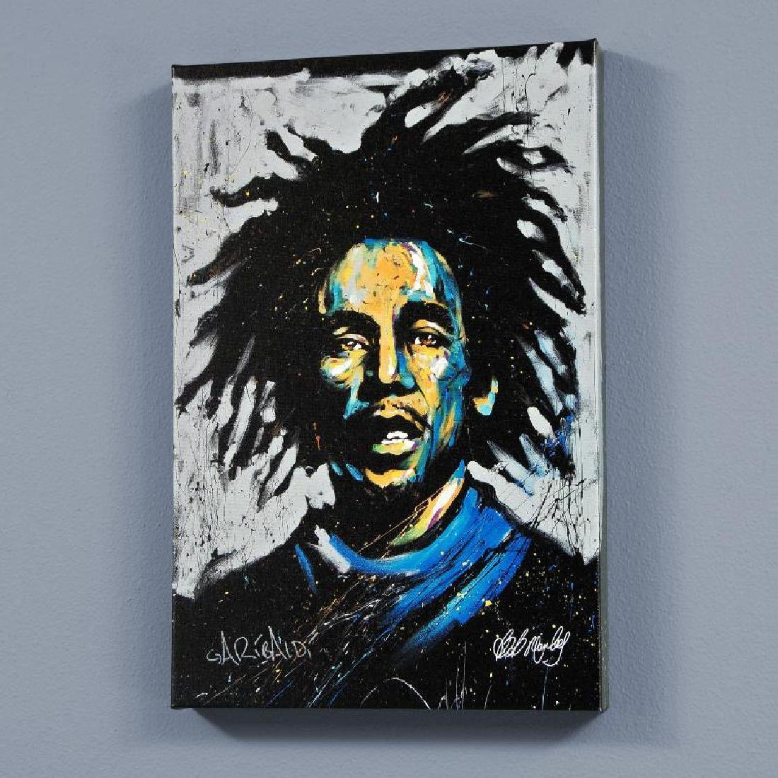 """Bob Marley (Redemption)"" LIMITED EDITION Giclee on"