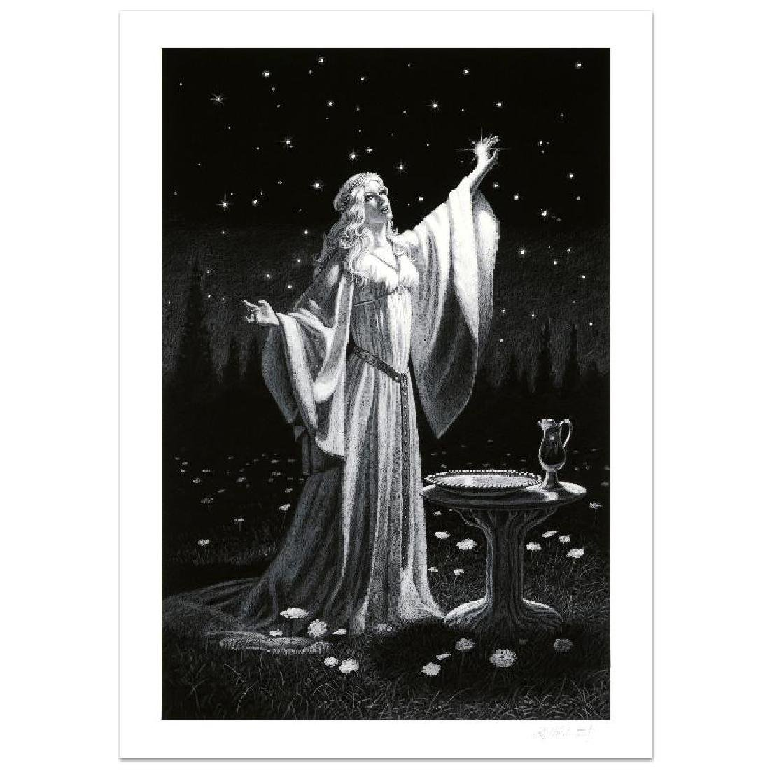 """""""Ring Of Galadriel"""" Limited Edition Giclee by Greg"""