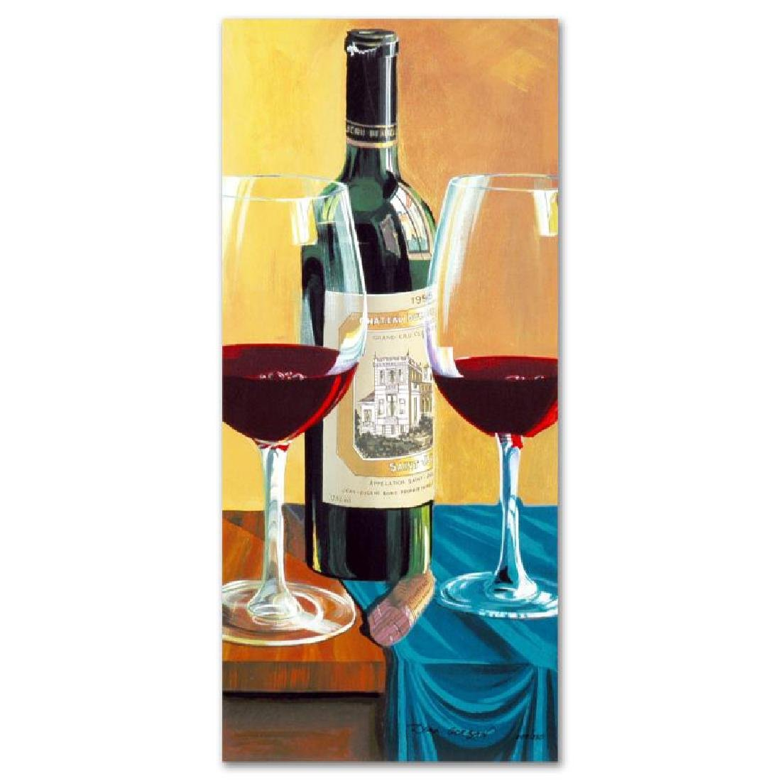 """Wine For Two"" Limited Edition Serigraph by Dima"