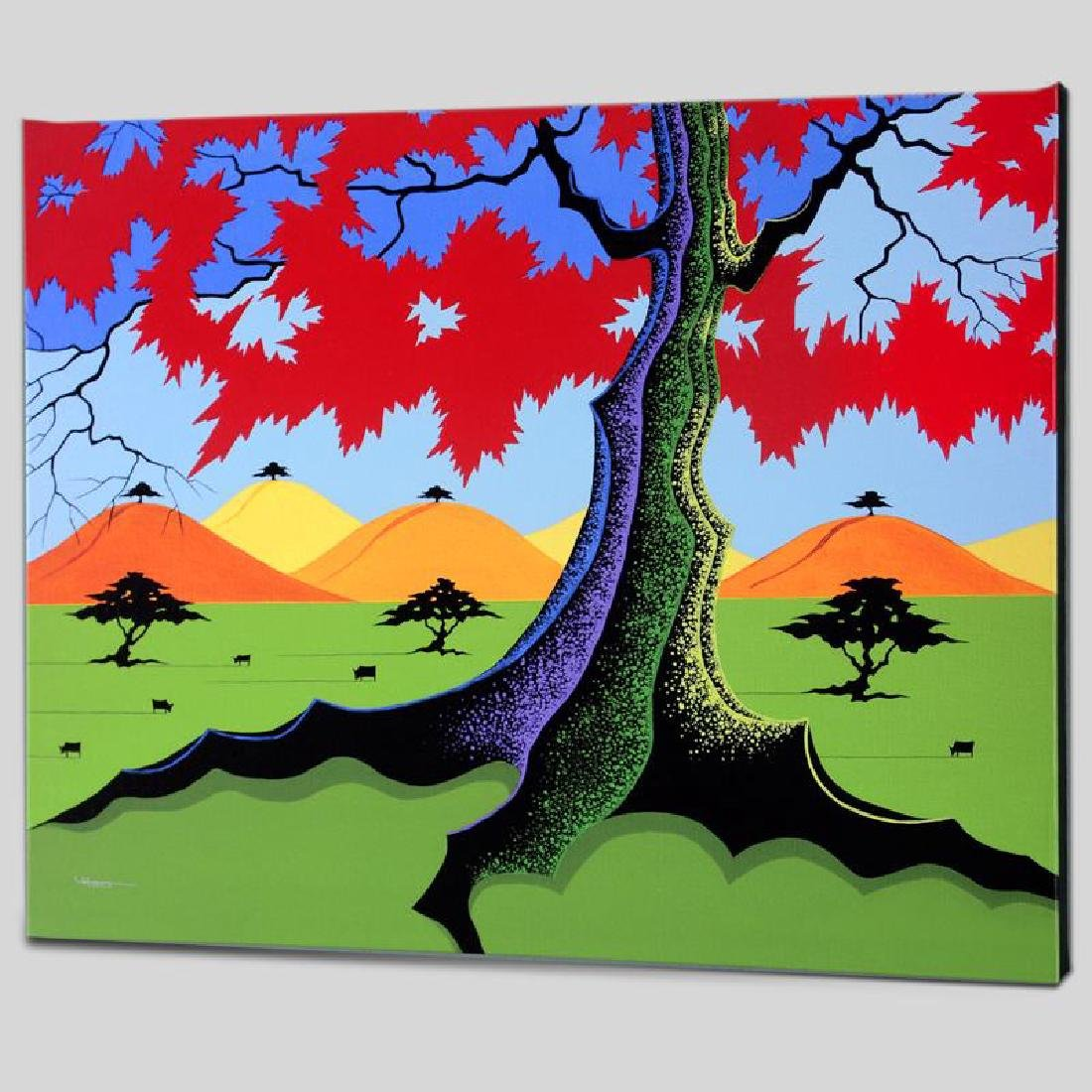 """""""The Hills Have Trees"""" Limited Edition Giclee on Canvas"""