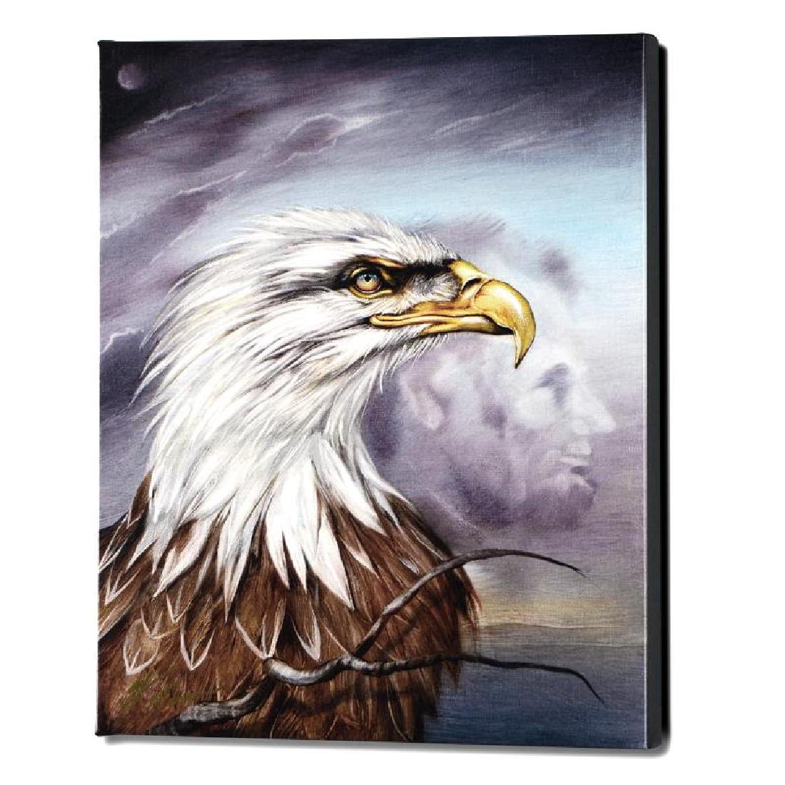 """Regal Eagle"" Limited Edition Giclee on Gallery Wrapped"