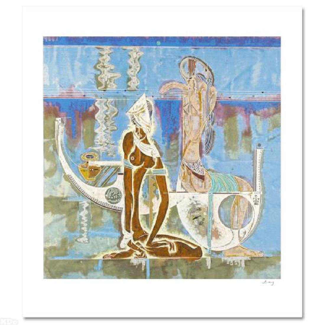 """Rhyme of Sea LIMITED EDITION Serigraph (34"""" x 38"""") by"""