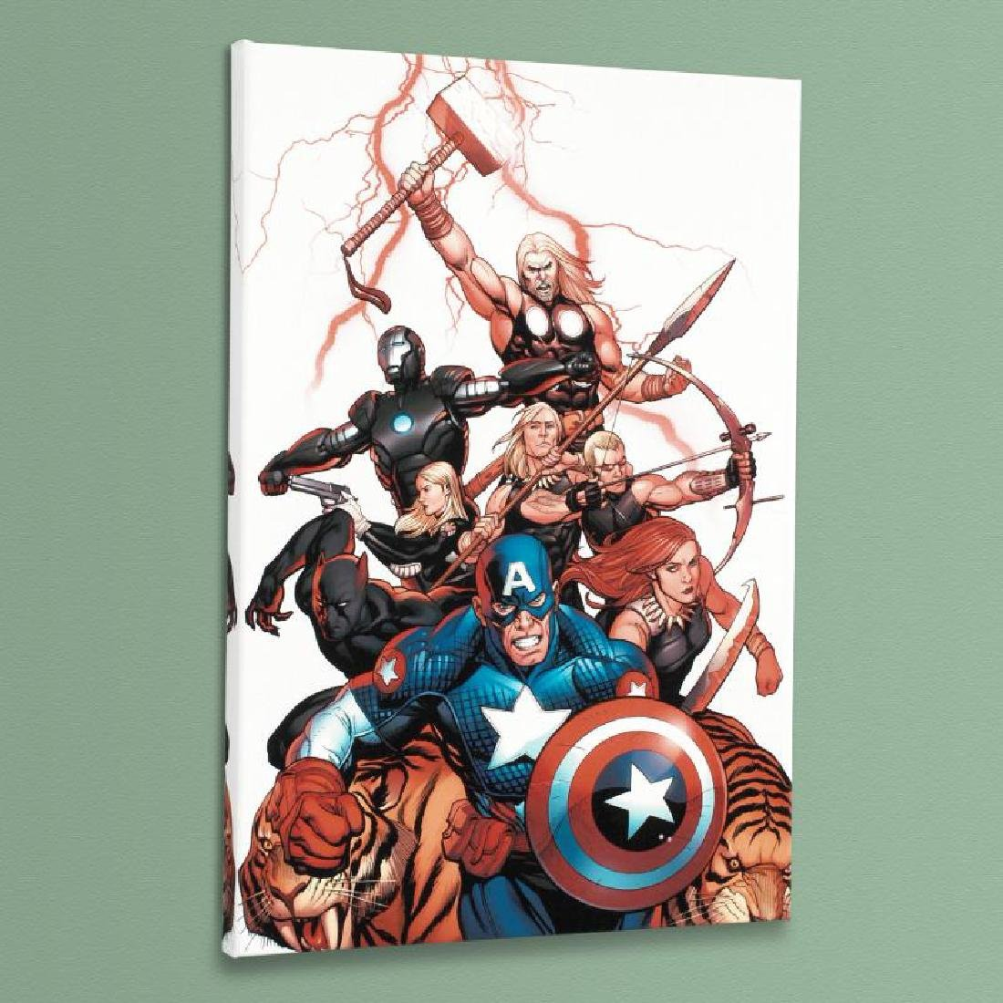 """Ultimate New Ultimates #5"" Limited Edition Giclee on"