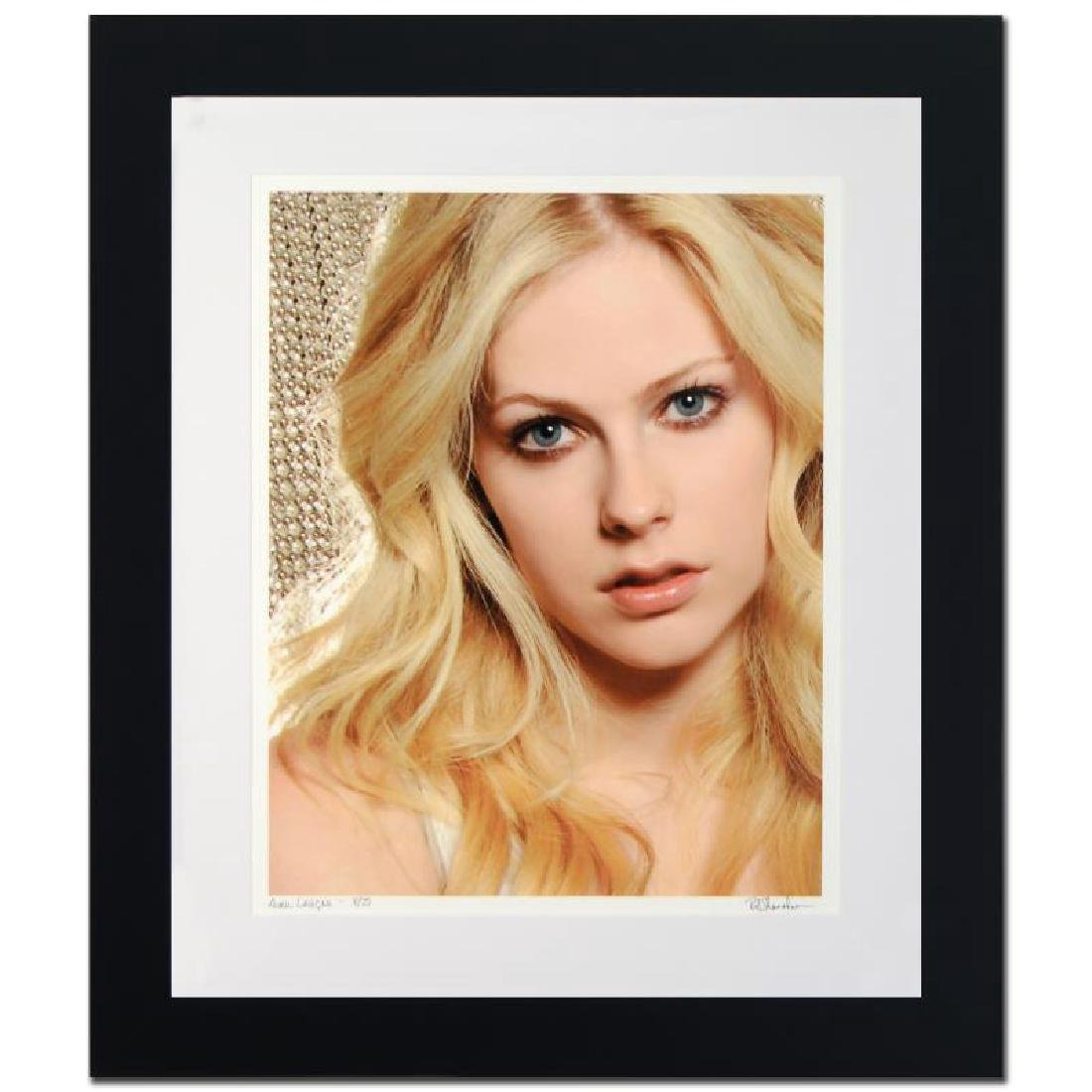 Avril Lavigne Limited Edition Giclee by Rob Shanahan,