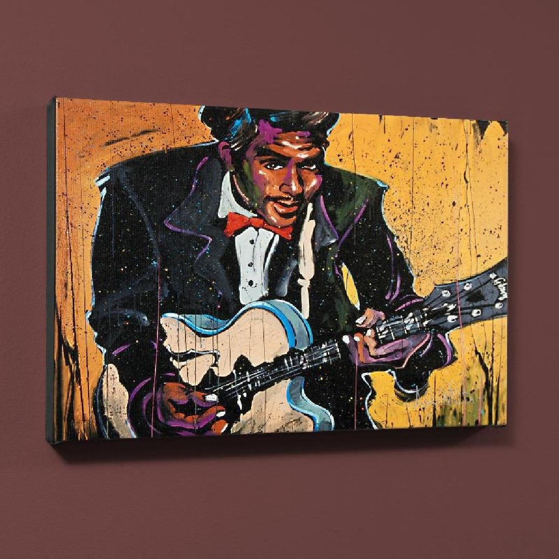 """Chuck Berry (Chuck)"" LIMITED EDITION Giclee on Canvas"