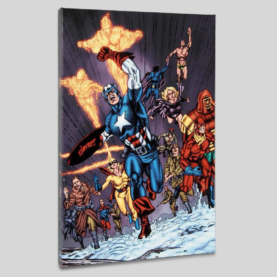 """Avengers/Invader #11"" Limited Edition Giclee on Canvas"
