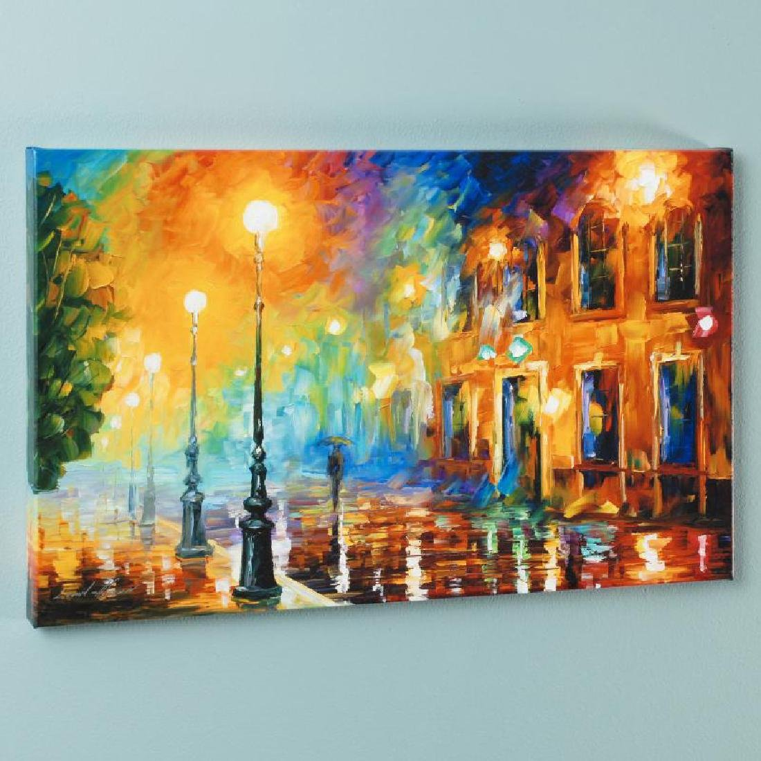 """Misty City"" LIMITED EDITION Giclee on Canvas by Leonid"