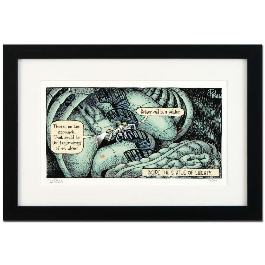 "Bizarro! ""Inside Liberty"" is a Framed Limited Edition"