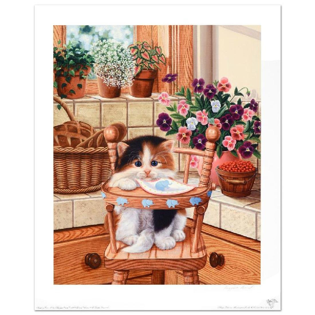 """""""Sunday Brunch"""" Limited Edition Lithograph by Barbara"""