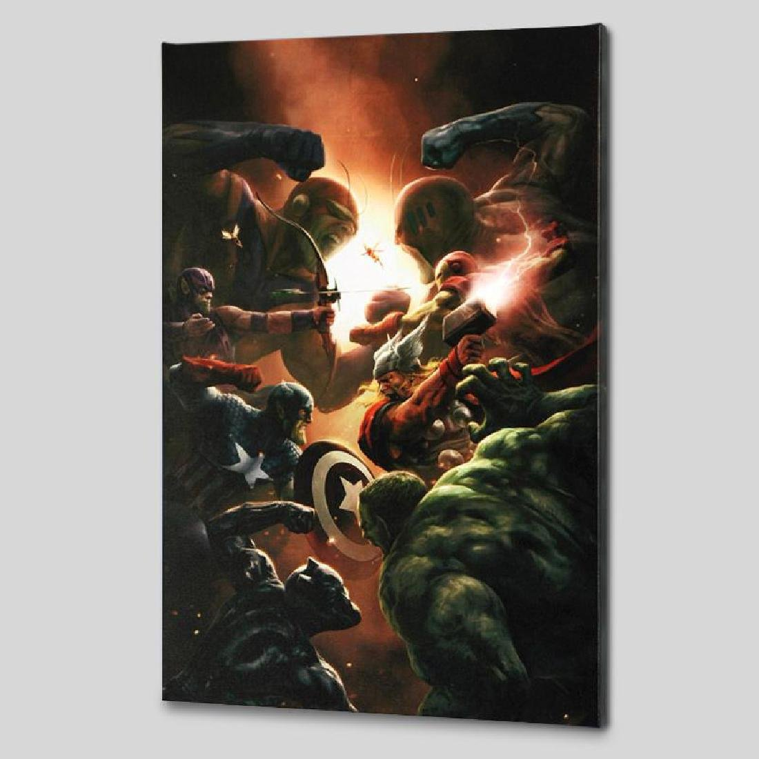 """New Avengers #43"" LIMITED EDITION Giclee on Canvas by"