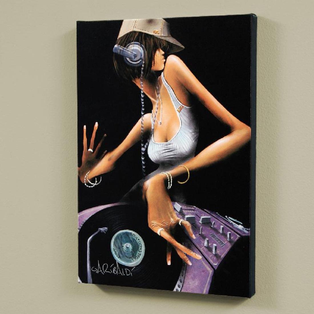 """""""DJ Free"""" LIMITED EDITION Giclee on Canvas (24"""" x 36"""")"""