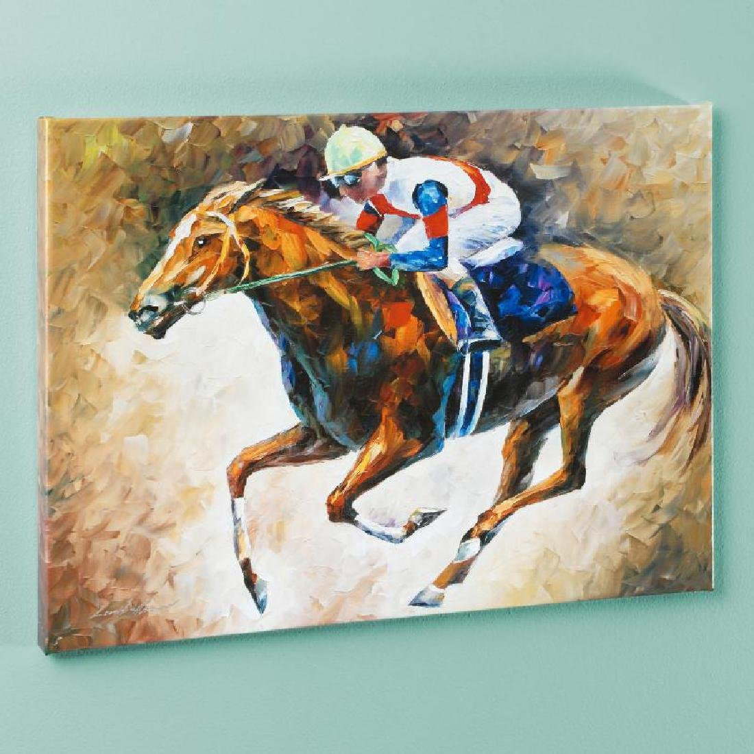 """""""First"""" LIMITED EDITION Giclee on Canvas by Leonid"""