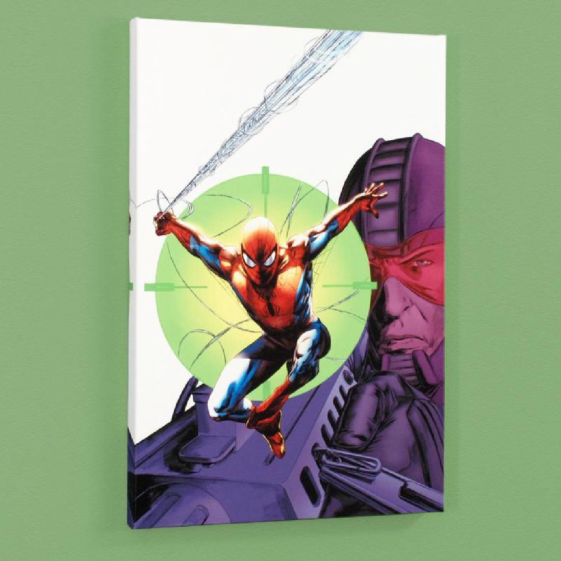 Heroes For Hire #6 Limited Edition Giclee on Canvas by